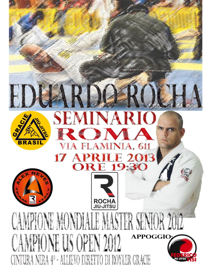 Eduardo Rocha Seminar, Rome on 17 April 2013