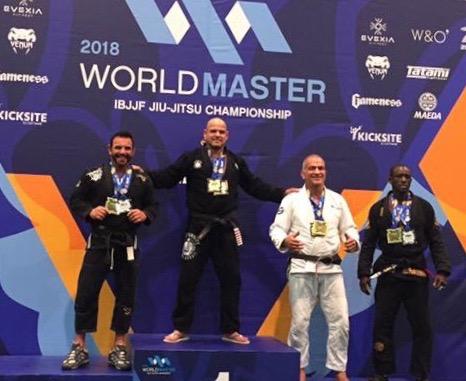 Eduardo Rocha, 4x World Champion